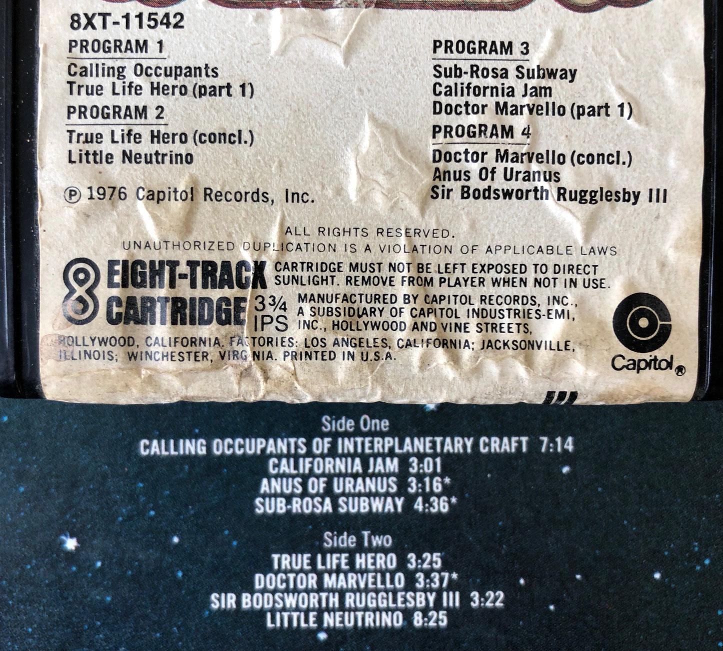 8-Trackin': Klaatu (Self-Titled, 1976) – Cherry Stereo