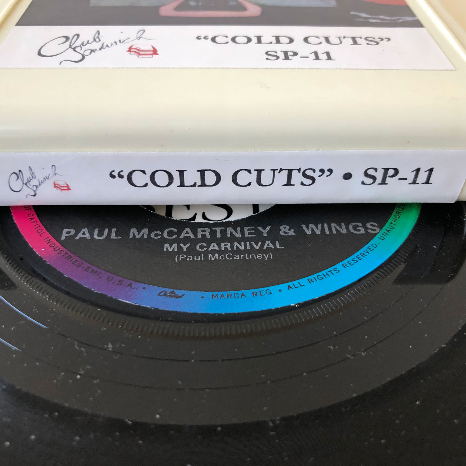 8-Trackin': Paul McCartney, 'Cold Cuts' (Custom 8-Track