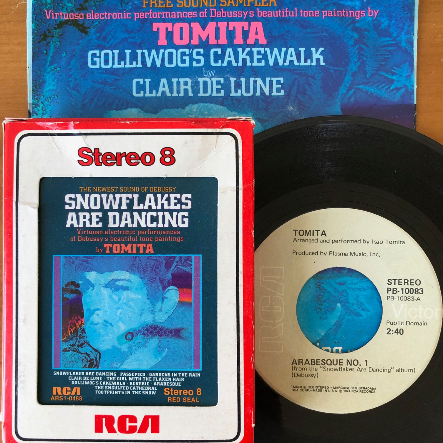 8-Trackin': Tomita, 'Snowflakes Are Dancing' (1974)